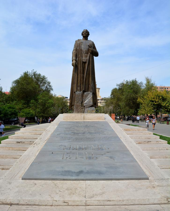 Garegin Nzhdeh was an Armenian statesman and military strategist. stock image