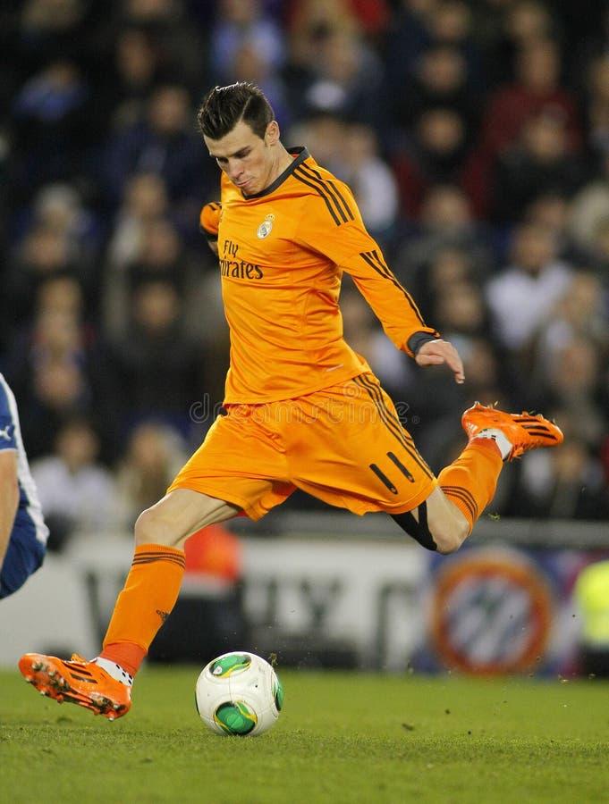Gareth bela Real Madrid fotografia royalty free