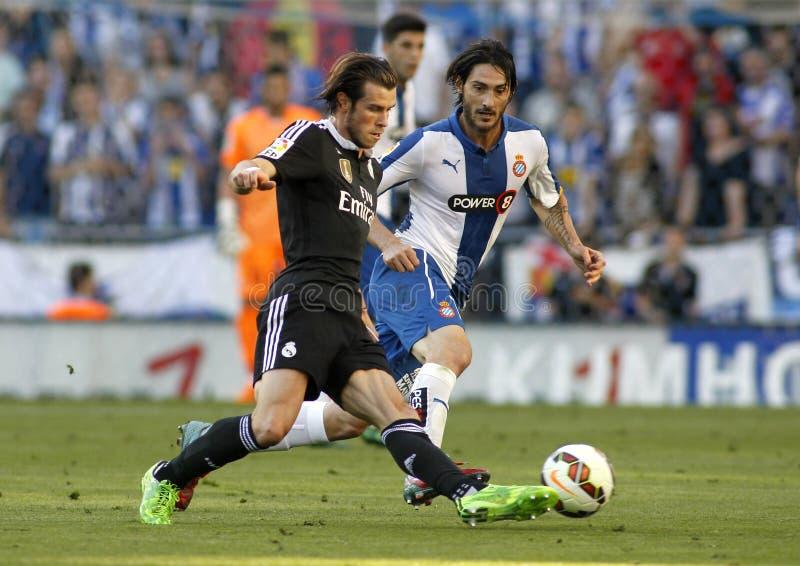 Gareth bela Real Madrid obraz royalty free