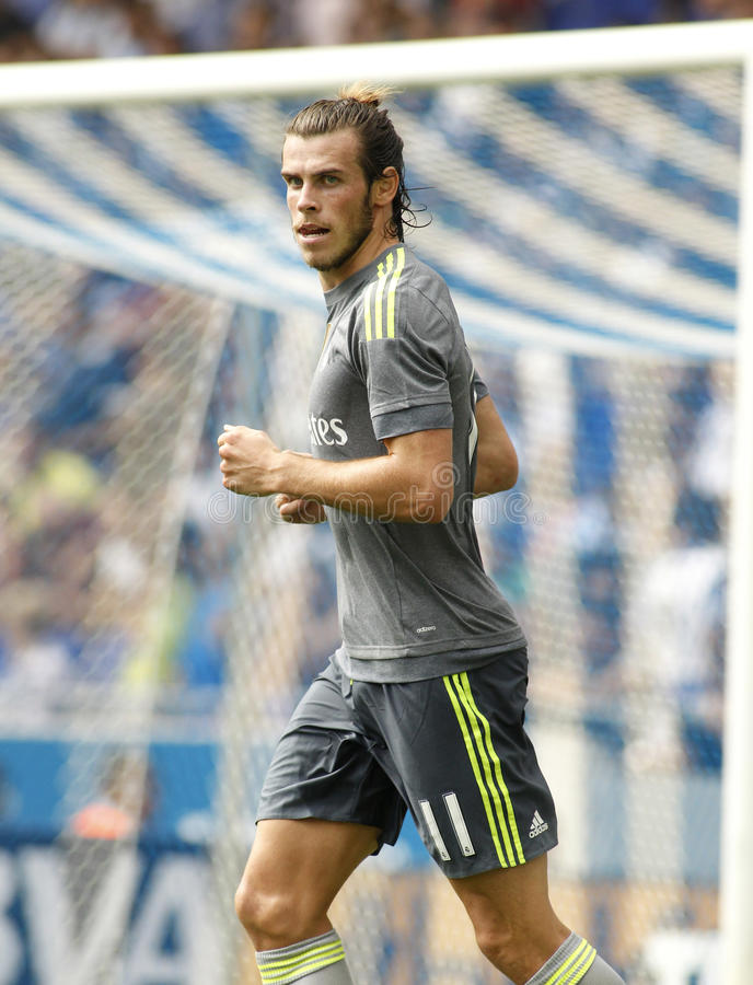 Gareth bela Real Madrid zdjęcia royalty free