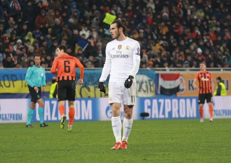 Gareth bela Real Madrid fotografia stock