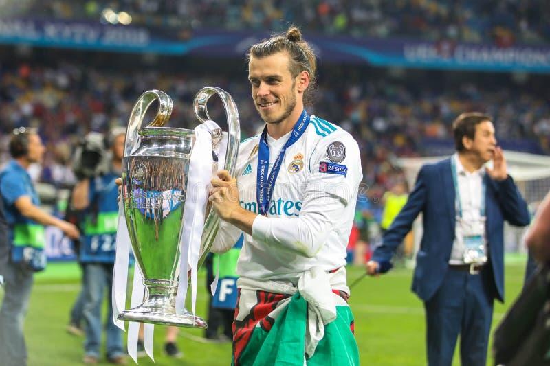 Gareth beli futbol zdjęcia stock