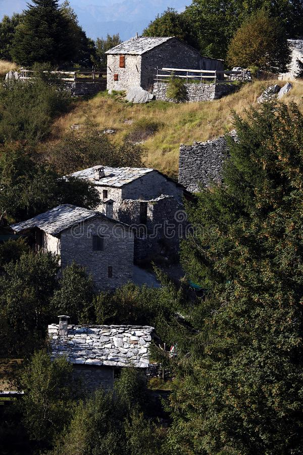 Garfagnana, Campocatino, Alpes d'Apuan, Lucques, Toscane l'Italie juste photos libres de droits