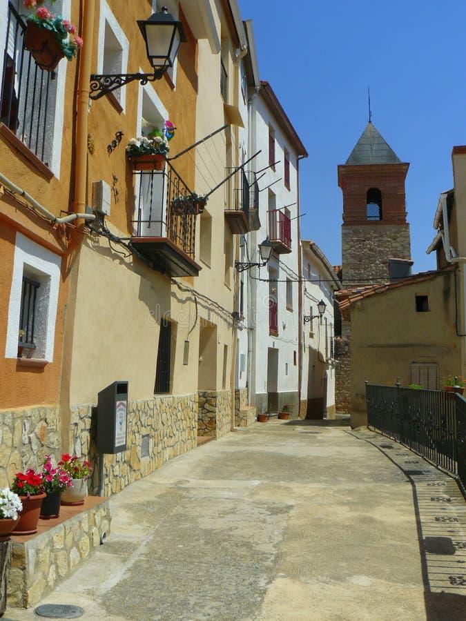 Gargallo, Teruel royalty-vrije stock afbeeldingen