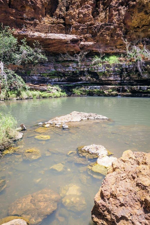 Garganta Australia de los valles foto de archivo libre de regalías