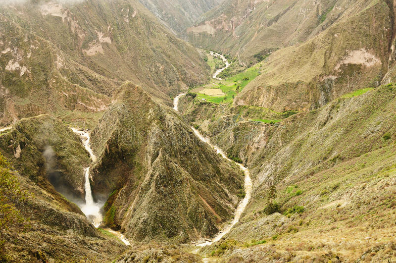 Garganta Cotahuasi, Peru fotos de stock royalty free