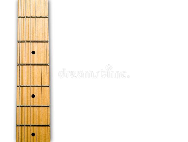 Garganta da guitarra imagem de stock royalty free