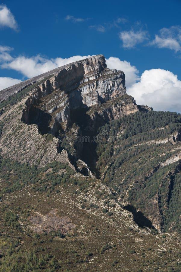 Garganta de Anisclo em Huesca, Aragon pyrenees, Espanha fotos de stock royalty free
