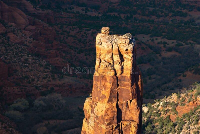 Garganta de Chelly, o Arizona, EUA fotos de stock royalty free