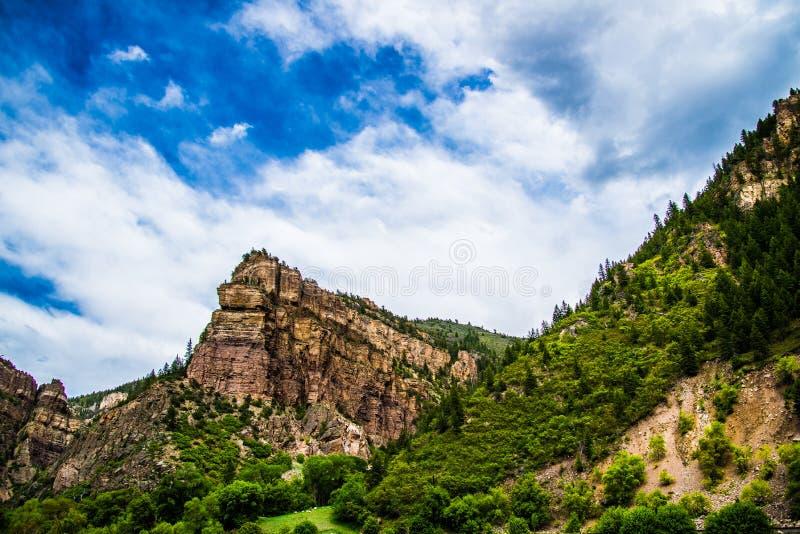 Garganta de Glenwood em Colorado fotos de stock