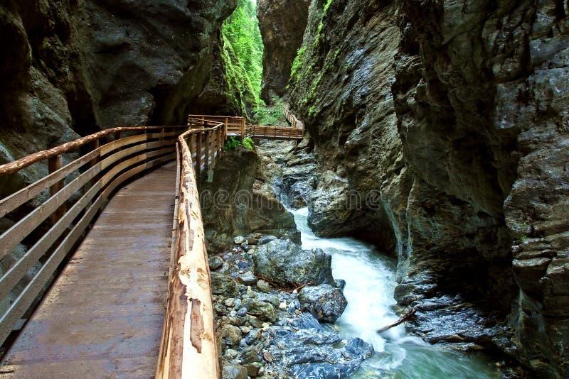 Download Garganta De Liechtensteinklamm Imagem de Stock - Imagem de liechtenstein, gorge: 10051031