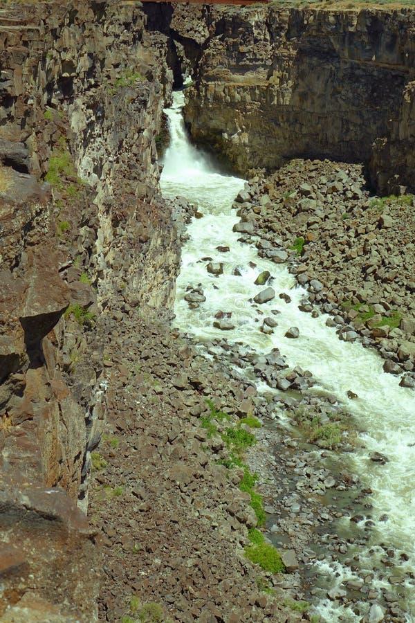 Garganta de Malad - Idaho imagenes de archivo