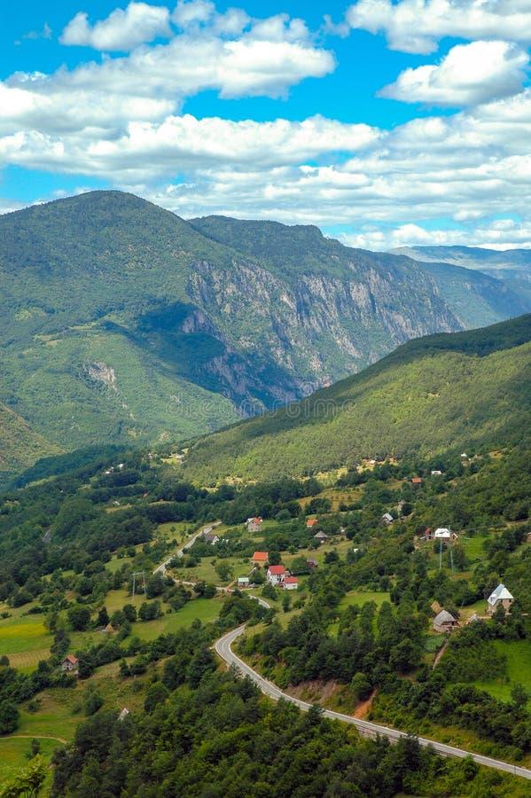 Garganta de Tara, Montenegro fotos de stock royalty free