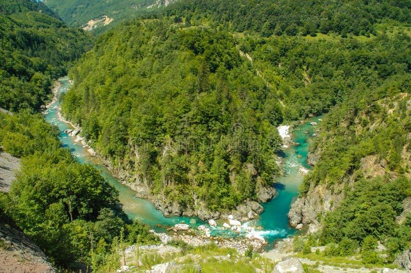 Garganta de Tara, Montenegro fotografia de stock royalty free