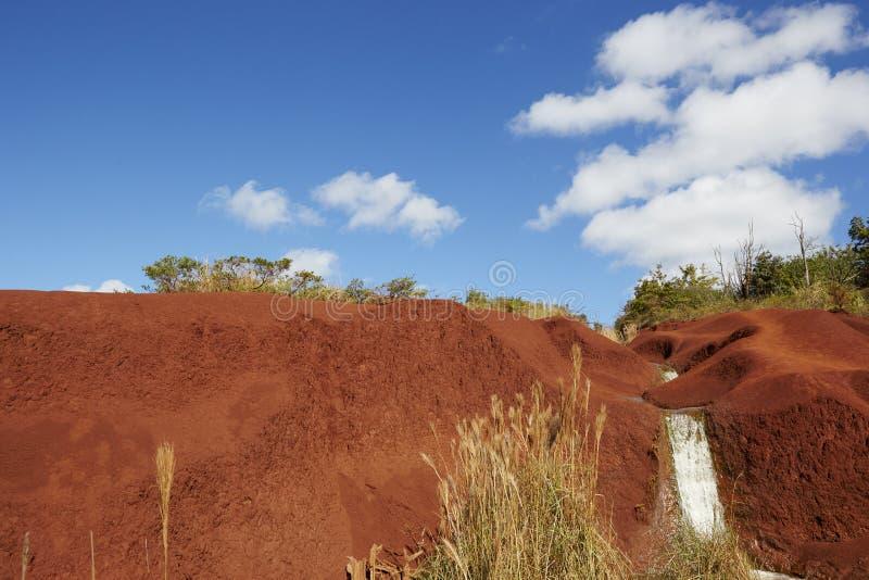 Download Garganta de Waimea, Kauai imagem de stock. Imagem de céu - 65579203