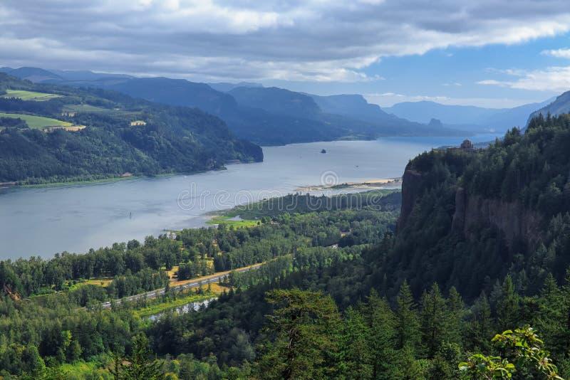 Garganta del río Columbia imágenes de archivo libres de regalías