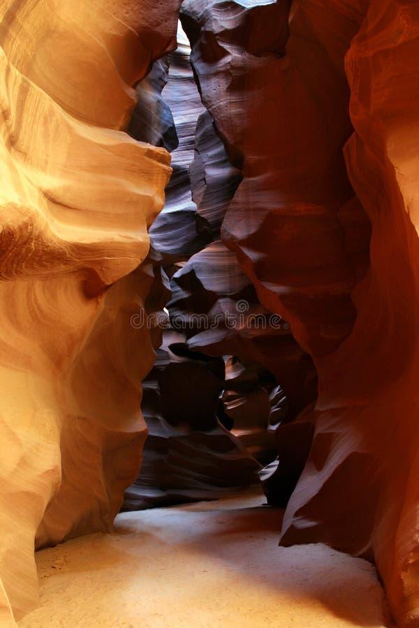 Garganta do antílope no Arizona imagens de stock