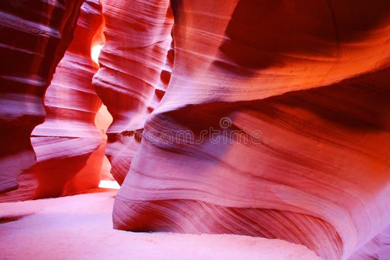 Garganta do antílope, página, o Arizona, EUA foto de stock