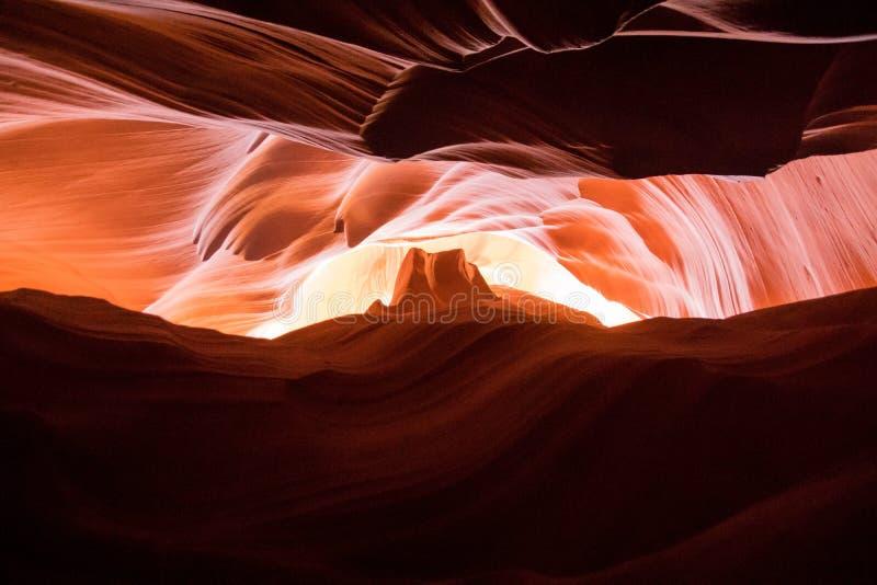 Garganta do entalhe no Arizona imagens de stock royalty free