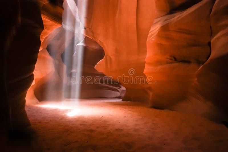 Garganta do entalhe no Arizona foto de stock royalty free