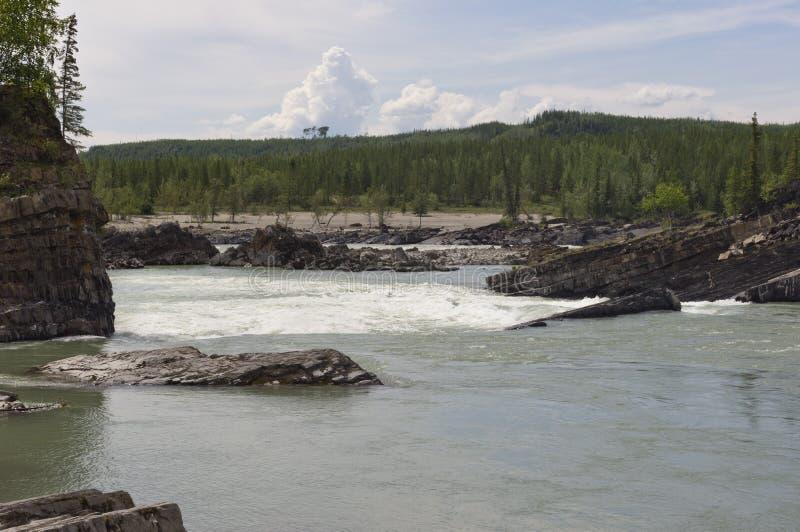 Garganta do redemoinho, BC, Canadá imagem de stock royalty free