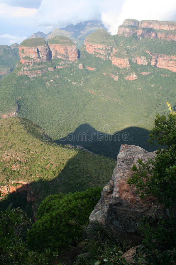 Garganta do rio de Blyde, África do Sul fotografia de stock royalty free
