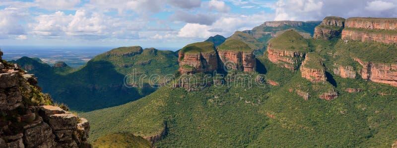 Garganta do rio de Blyde, África do Sul imagens de stock royalty free
