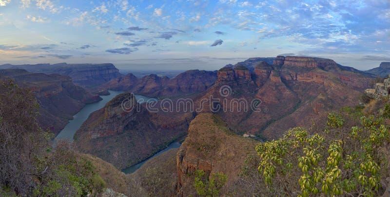Garganta do rio de Blyde (África do Sul) fotografia de stock royalty free