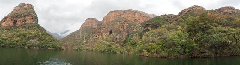 Garganta do rio de Bydle, África do Sul fotos de stock