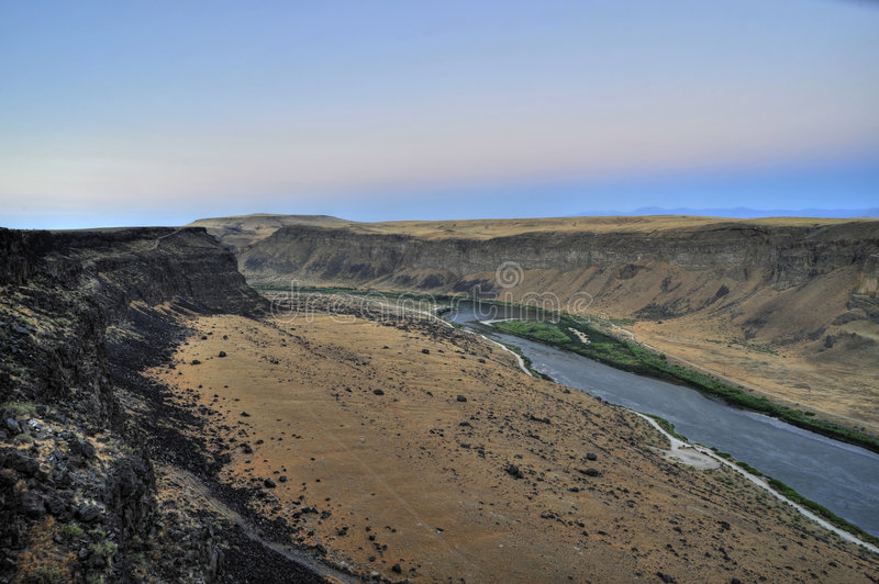 Garganta do rio de serpente, Idaho foto de stock royalty free