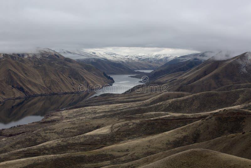 Garganta do rio Snake entre Idaho e Oregon fotos de stock royalty free