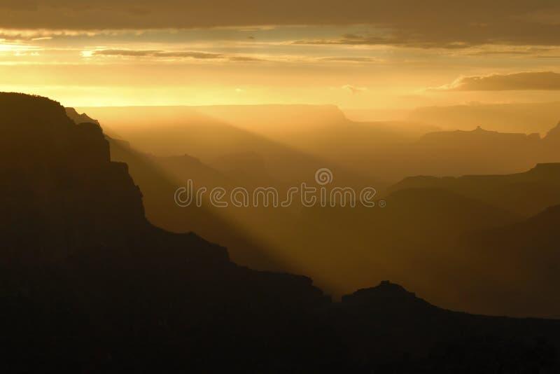 Garganta grande no por do sol fotos de stock royalty free
