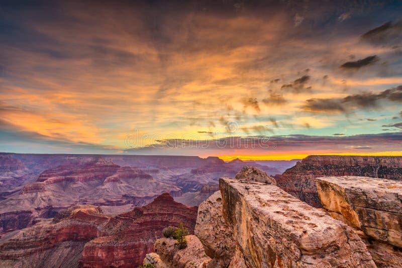 Garganta grande, o Arizona, EUA fotos de stock royalty free