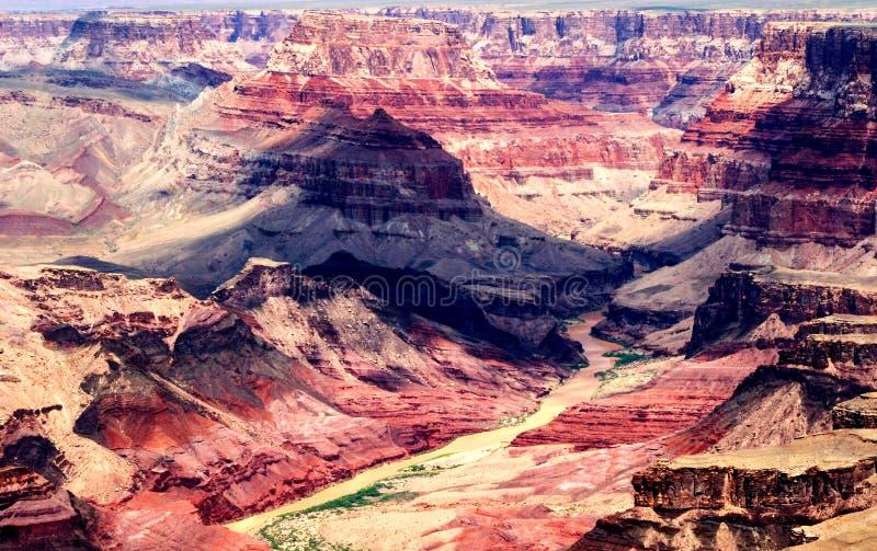 Garganta grande Paisagem EUA do Arizona fotos de stock