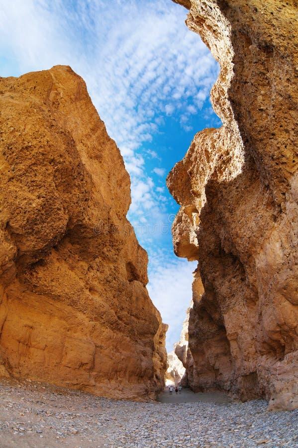 Garganta no deserto de Namib fotos de stock