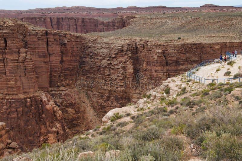 Garganta profunda do Arizona fotos de stock royalty free