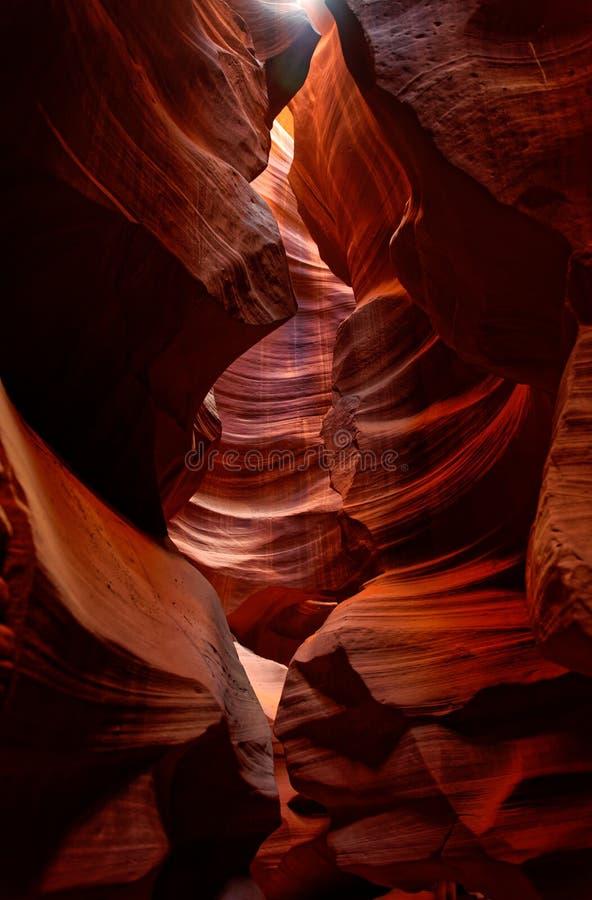 Garganta superior do antílope, o Arizona imagens de stock