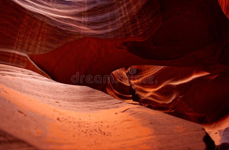 Garganta superior interna do antílope, o Arizona fotos de stock royalty free