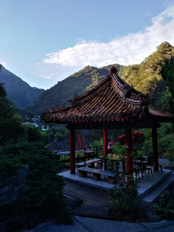 Gargantas de Taroko en Taïwan foto de archivo