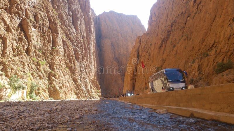 Gargantas du toudgha, tinghir, Marruecos fotos de archivo libres de regalías
