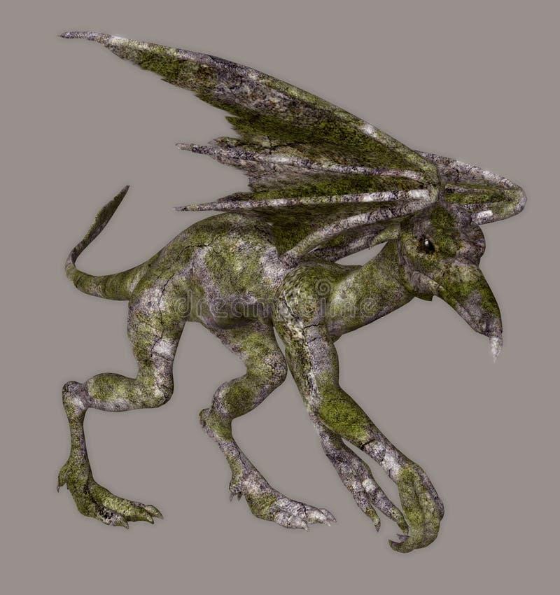 Gargouille vector illustratie
