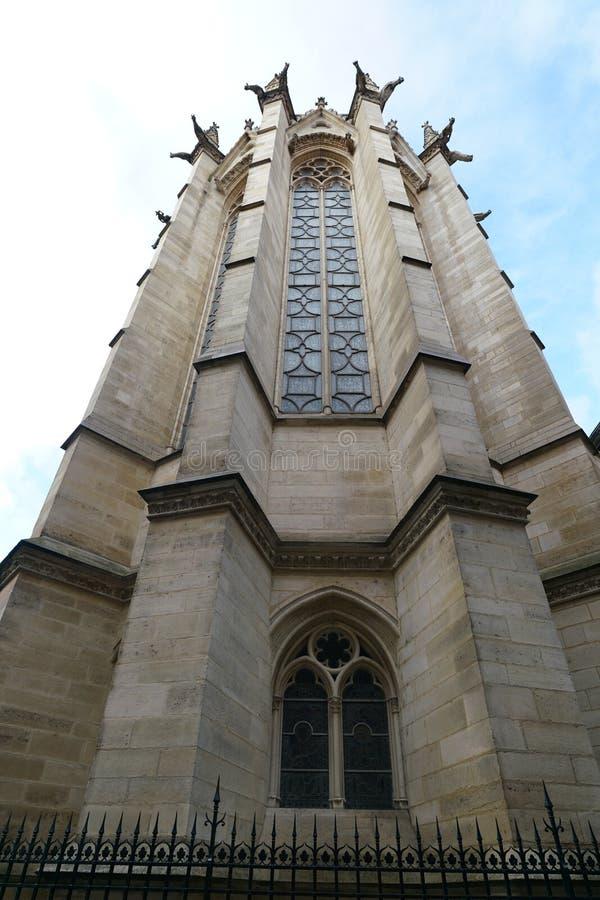 Gargouilles bij een kerk in Frankrijk stock fotografie