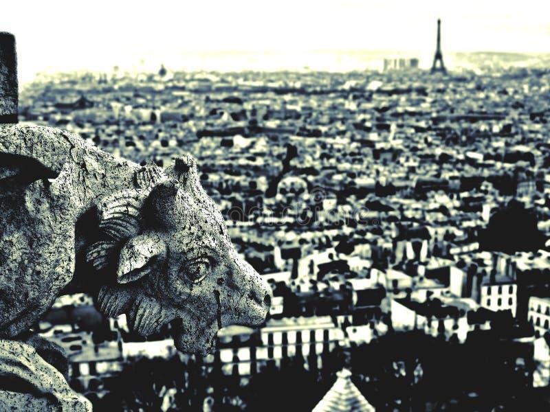 gargoyle Παρίσι στοκ φωτογραφία με δικαίωμα ελεύθερης χρήσης