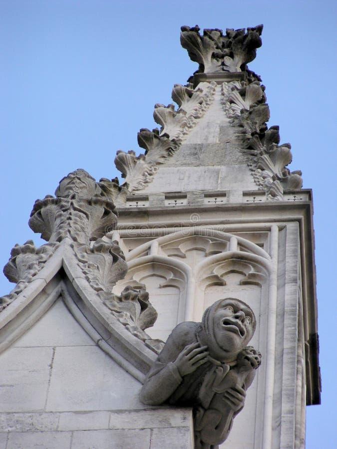 gargoyle Англии стоковые фотографии rf