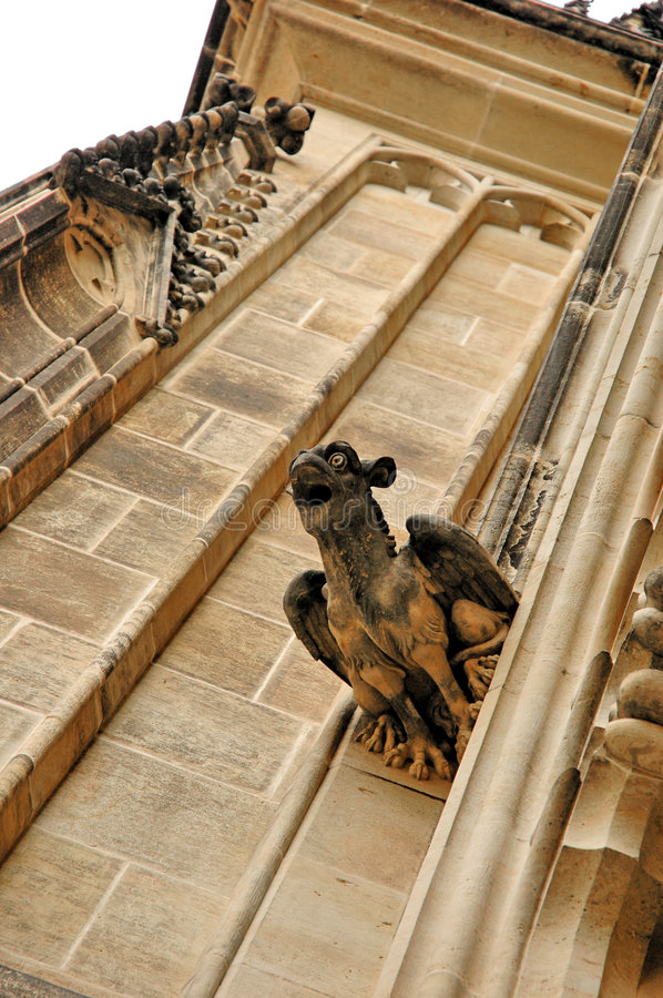 Free Gargoyle At Cathedral Wall Stock Images - 3140474