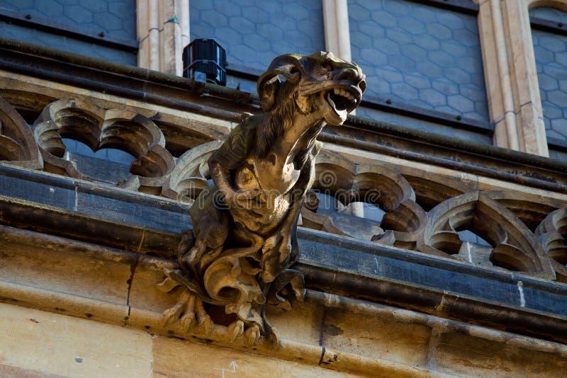 Download Gargoyle on cathedral stock photo. Image of decoration - 20481036