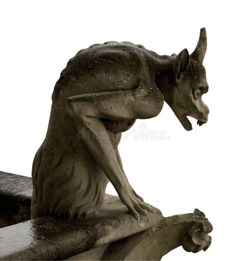 Gargoyle de Notre Dame, París imagen de archivo libre de regalías