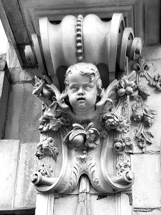 gargoyle royaltyfria bilder