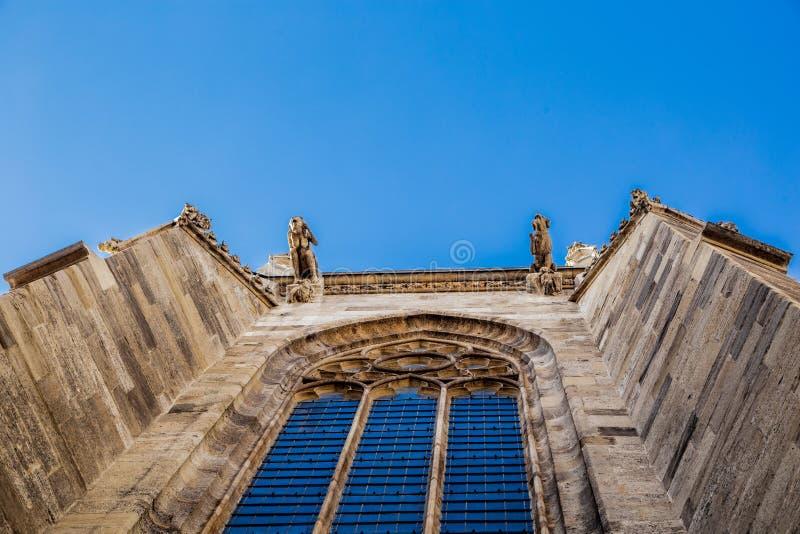 Gargoyles στο κτήριο εκκλησιών στοκ φωτογραφίες