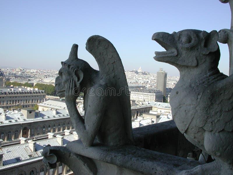 Gargoyles! royalty free stock photos